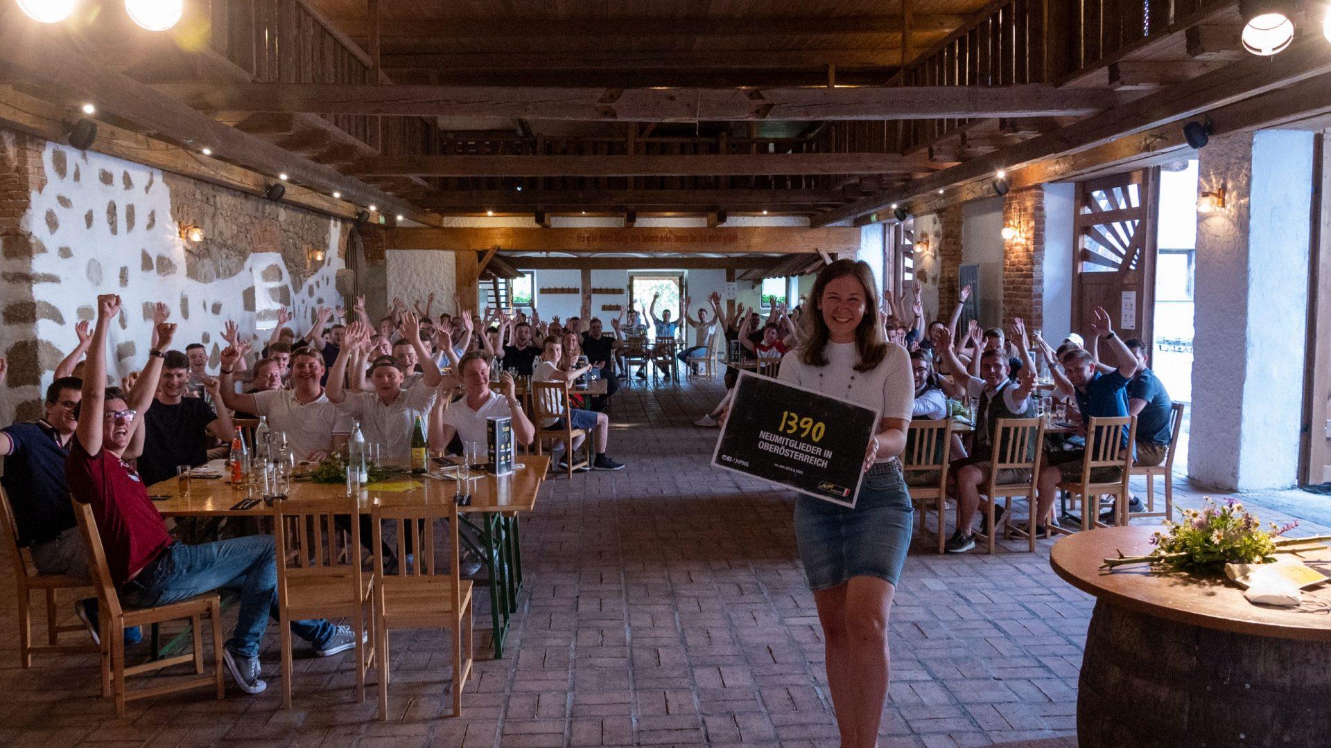 Claudia Plakolm_JVP-Membercamp